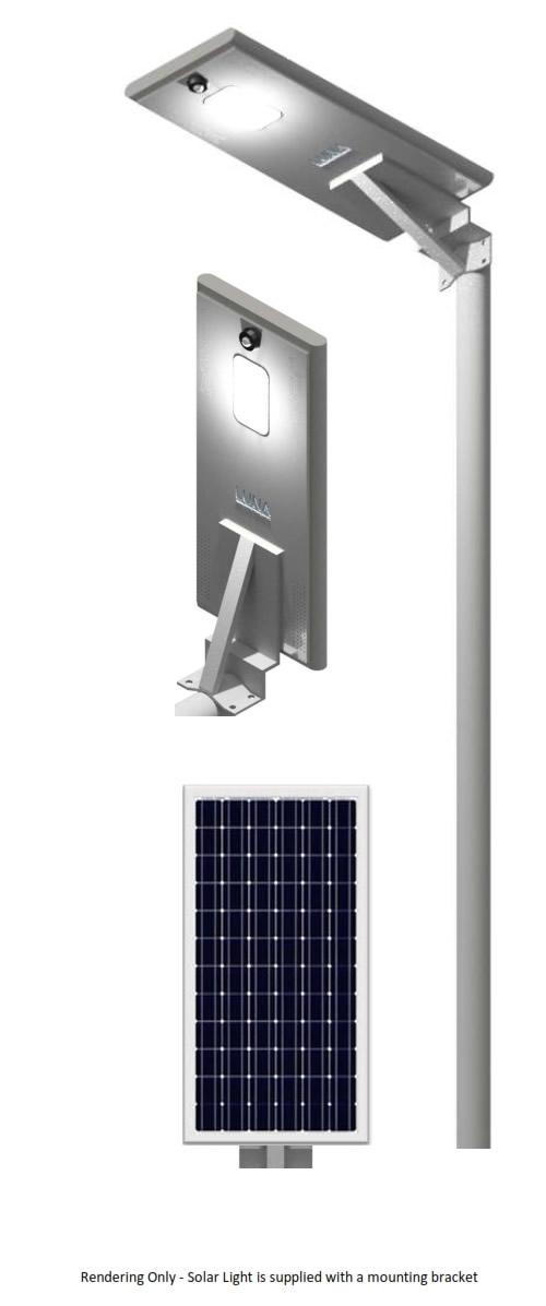 Luna Outdoor Solar Lighting Model 120MP